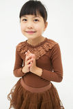 Asian Girl's portrait royalty free stock image