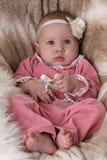 Beautiful little baby Stock Photo