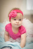 Beautiful little baby. Royalty Free Stock Photos