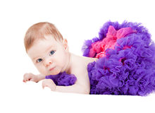 Beautiful little baby girl Stock Images