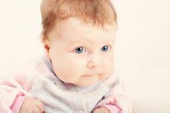 Beautiful little baby girl Royalty Free Stock Photo