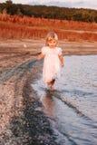 Beautiful little baby girl Stock Photos