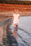 Beautiful little baby girl royalty free stock image