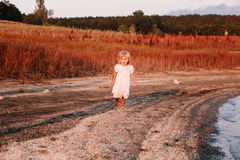 Beautiful little baby girl Royalty Free Stock Photography