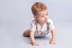 Beautiful little baby Stock Images