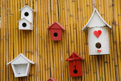 Beautiful little of birdhouse. Royalty Free Stock Photo