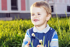 Beautiful little boy Royalty Free Stock Photos