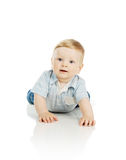 The beautiful little boy Stock Photos