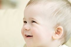 Beautiful little boy. Royalty Free Stock Image