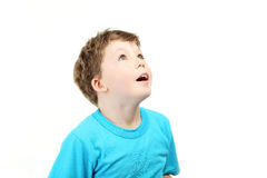 Beautiful little boy Stock Photos