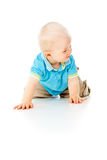 Beautiful little child boy Stock Photo