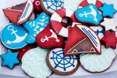 Beautiful little cookies Stock Photography