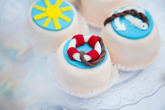 Beautiful little cookies Royalty Free Stock Photos