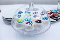 Beautiful little cookies Royalty Free Stock Photography