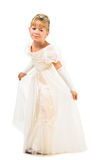 Beautiful little dancer wearing princess dress Royalty Free Stock Photography