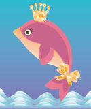 Beautiful little dolphin Royalty Free Stock Photos