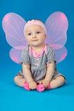Beautiful little fairy baby Stock Photo