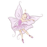 Beautiful little fairy. Royalty Free Stock Image