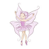 Beautiful little fairy. Royalty Free Stock Photo