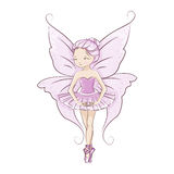 Beautiful little fairy. Stock Photography