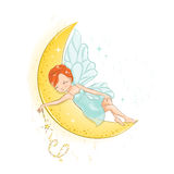 The beautiful little fairy. Stock Photo
