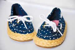 Kids shoes stock photography