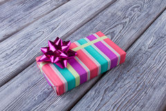 Beautiful little gift for the holiday. Royalty Free Stock Image