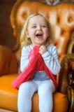 Beautiful little gir Royalty Free Stock Photo
