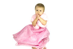 A beautiful little girl Royalty Free Stock Photos