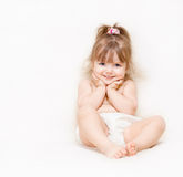 Beautiful little girl Stock Photography