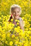 Beautiful little girl Royalty Free Stock Photos