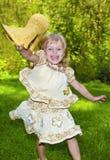 Beautiful little girl. Royalty Free Stock Image