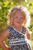 Beautiful little girl. Stock Photos