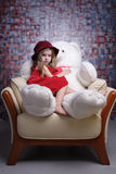 Beautiful little girl. Stock Images