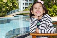 Beautiful little girl Stock Photo