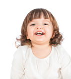 Beautiful little girl laughing Royalty Free Stock Image