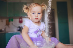 Beautiful little girl Royalty Free Stock Image