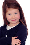 Beautiful little girl with nice eyes Royalty Free Stock Images