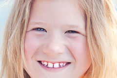 Beautiful little girl outdoor Royalty Free Stock Image