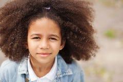 Beautiful little girl Stock Photos