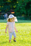 Beautiful little girl outdoor Stock Photography