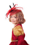 Beautiful little girl portrait Stock Photo