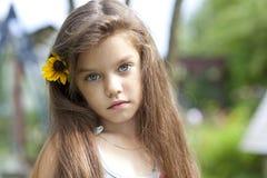 Beautiful little girl Stock Image