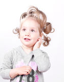 Beautiful little girl portrait Royalty Free Stock Photos