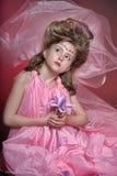 Beautiful little girl in princess dress Stock Image