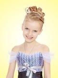 Beautiful little girl in Princess dress. Royalty Free Stock Image