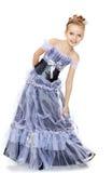 Beautiful little girl in Princess dress. Stock Photography