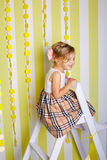 Beautiful little girl. Royalty Free Stock Photo