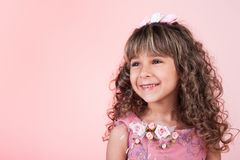 Beautiful little girl smiling Royalty Free Stock Image
