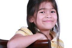 Beautiful little girl smiling Stock Photography